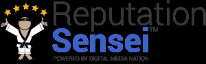 Reputation Sensei Rebranding Logo with Five Stars