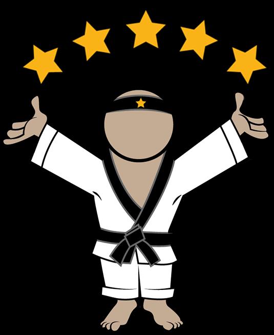 Reputation Sensei logo with Five Stars