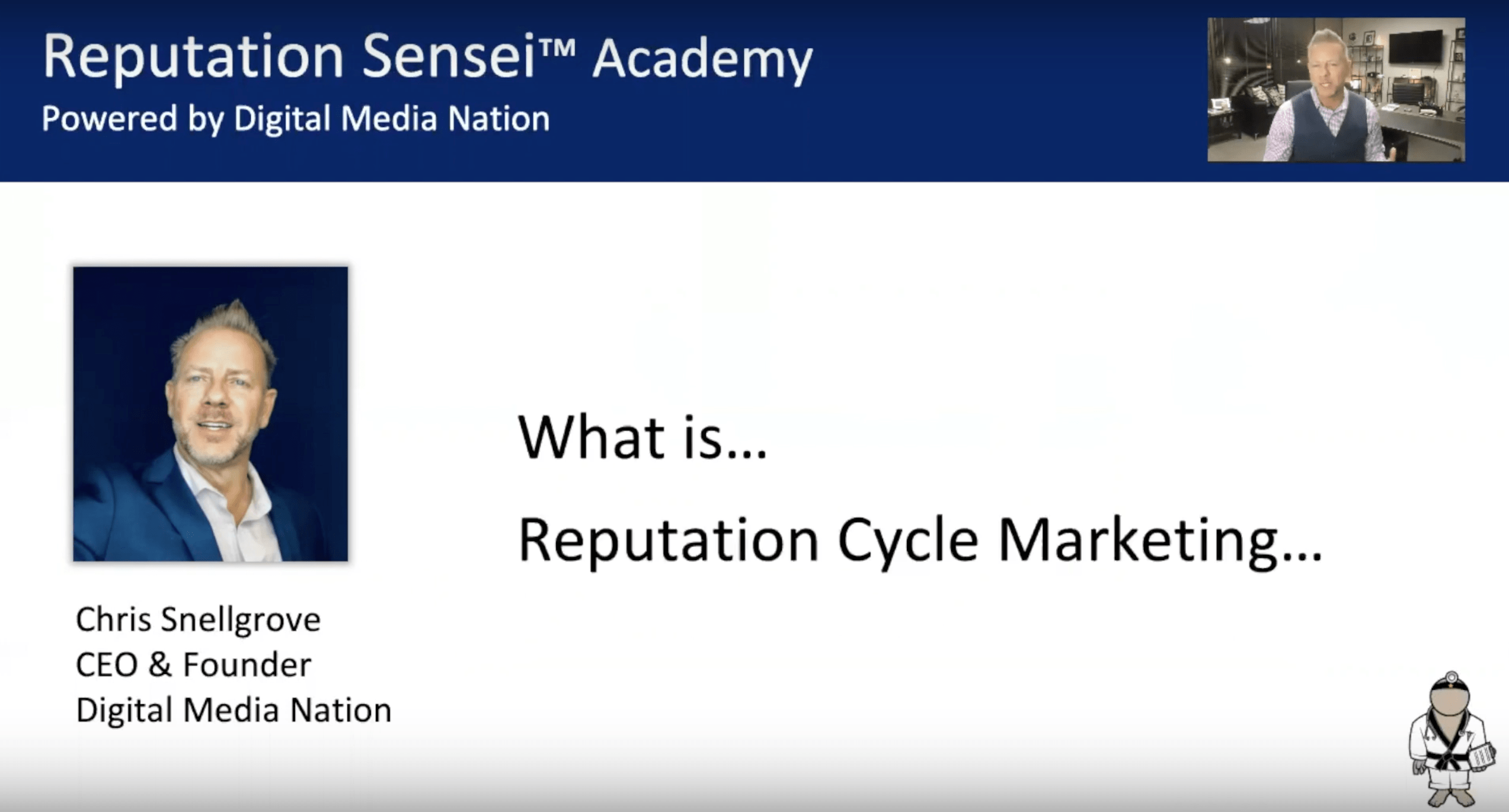 Reputation Cycle Marketing Defined - Blog Screen Shot