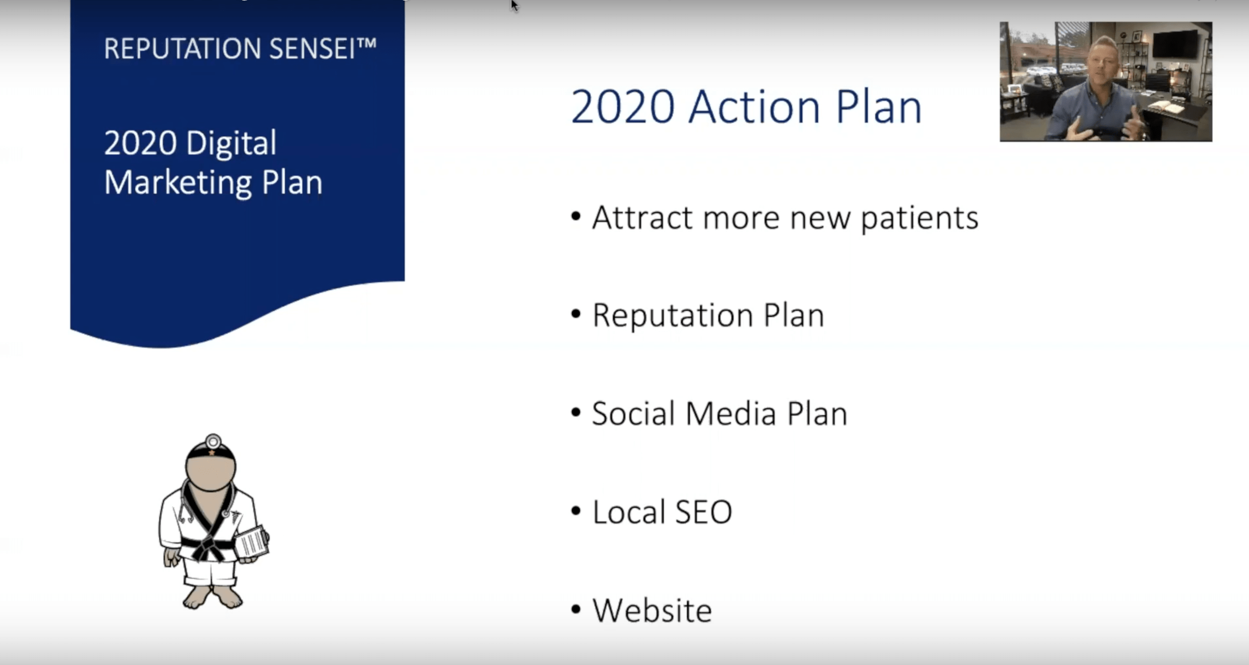 Digital Marketing Action Plan for 2020 - Blog Image