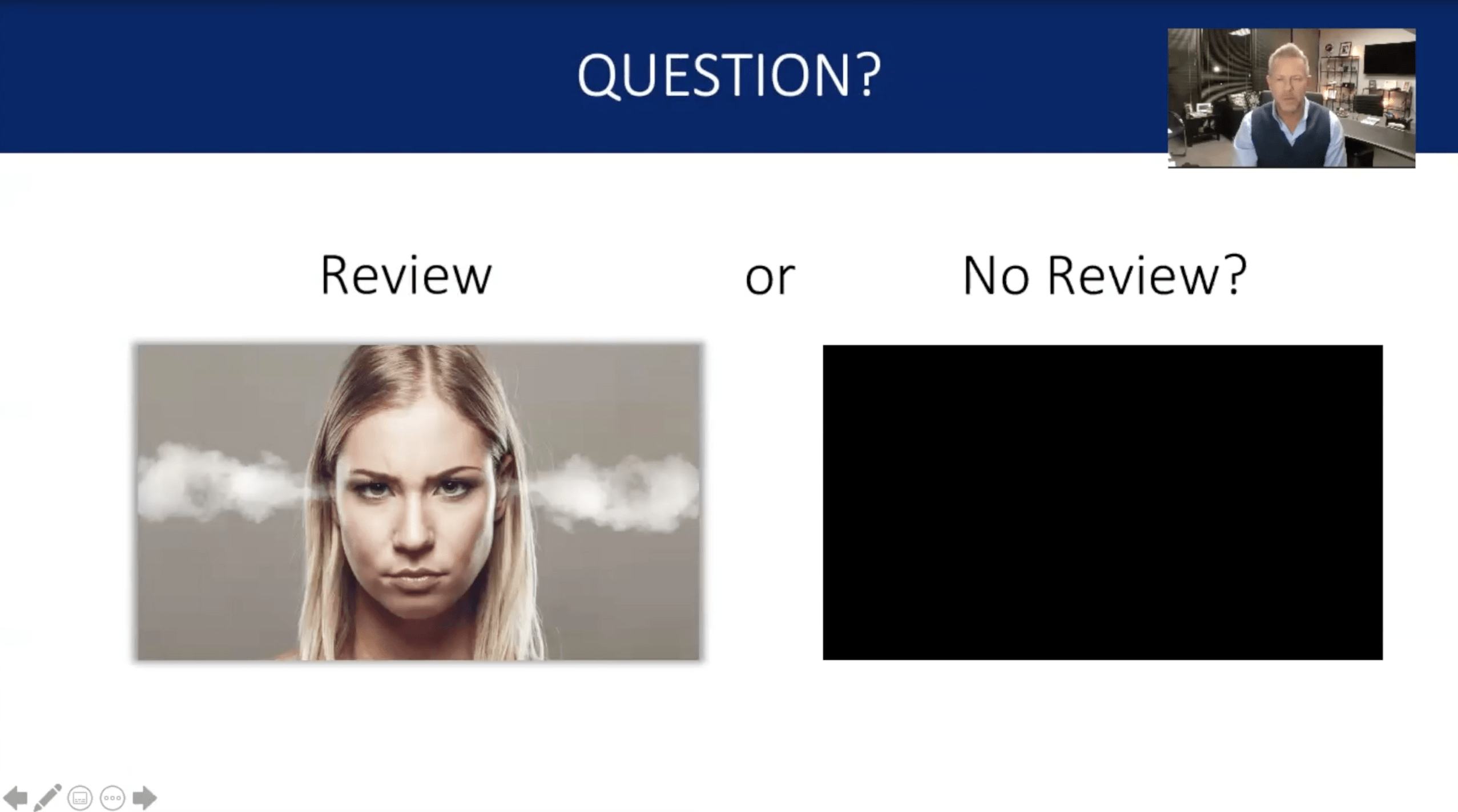 Negative Review - Review or No Review Image