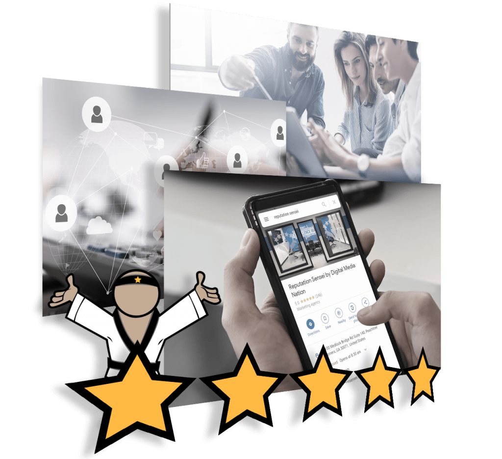 Get 5 Star Reviews with Reputation Sensei