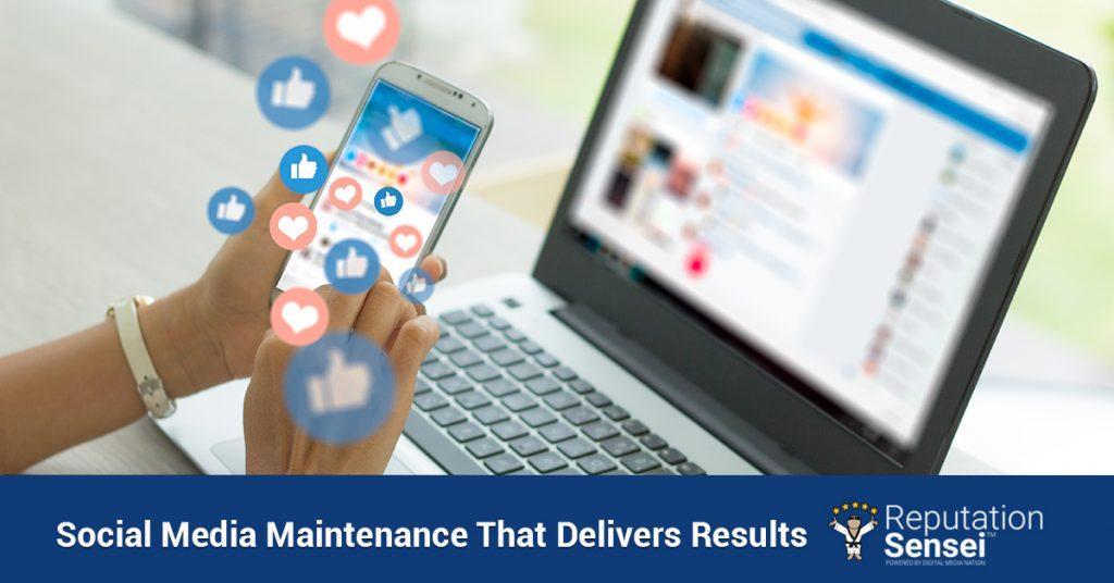 Social media maintenance for Atlanta brands.