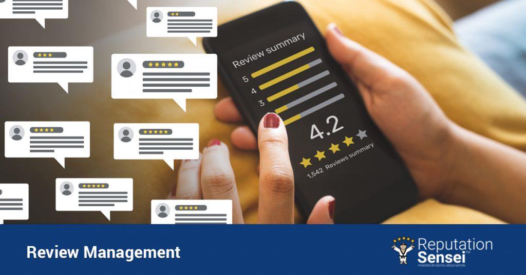 Review management for Atlanta businesses.