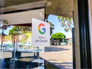 Google My Business reviews for Atlanta companies.